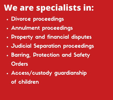 family law solicitor | custody | separation | divorce | child maintenance